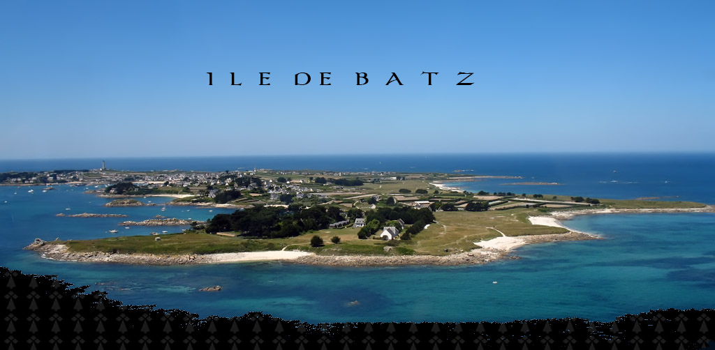 Photo aérienne ile de batz