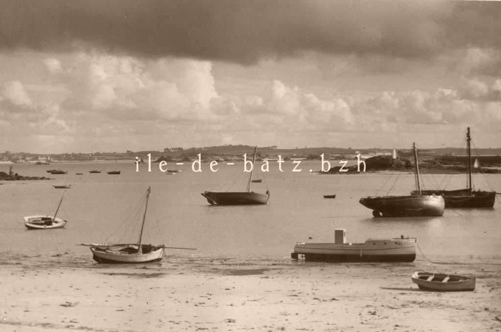 port-ile de batz-1946